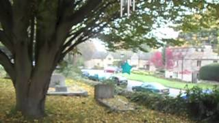 Robin Gibb : St Mary's Churchyard on noon day visit 24th October 2012.