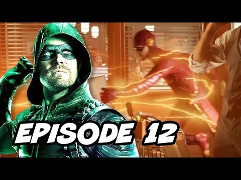 Arrow Season 6 Episode 12 - The Flash Crossover TOP 10 WTF and Easter Eggs