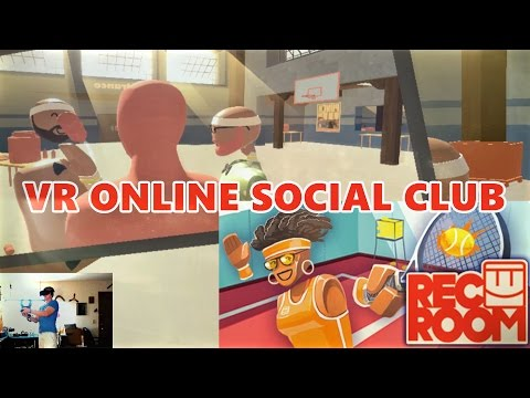 Rec Room VR - Early Access Online Social Club (HTC Vive/Oculus Rift)