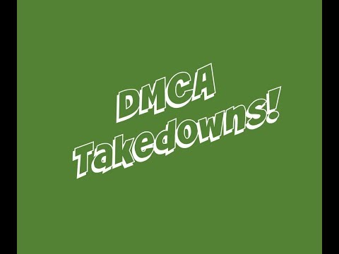 How to find a registered DMCA agent and send takedown notice