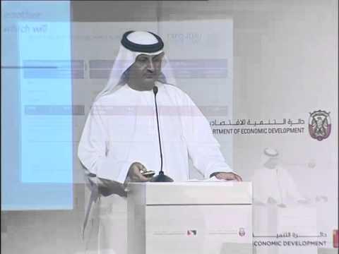 Mahmood Al Bastaki  Speaking at the UAE Economic Outlook Forum