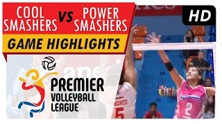 Power Smashers vs Cool Smashers | Game Highlights | PVL Reinforced Conference | May 9, 2017