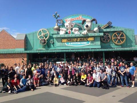 Theme Park Worldwide Blackpool Pleasure Beach Event Vlog July 2016