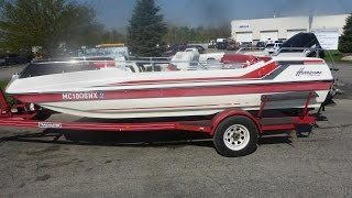 1990 Hurricane Deck Boat | For Sale | Online Auction