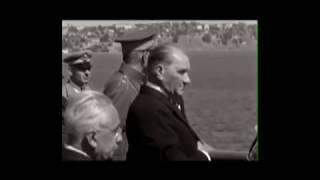 Atatürk'ün en güzel görüntüleri ve ❤️❤️ Gözleri Ömre Bedel ❤️❤️ Video