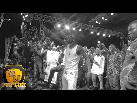 Shatta Wale performs @ Stonebwoy's concert in Ashiaman