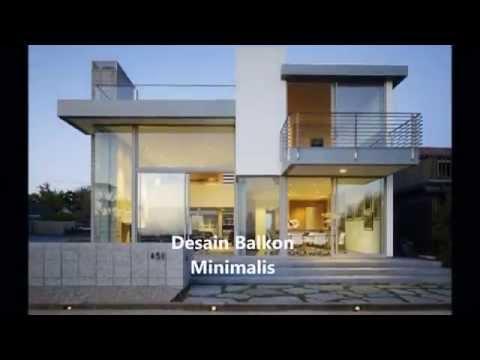Desain Model Balkon Rumah Minimalis Sederhana