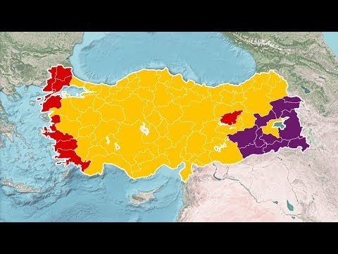 Turkish Presidential & Parliamentary Election Results (1950-2018)