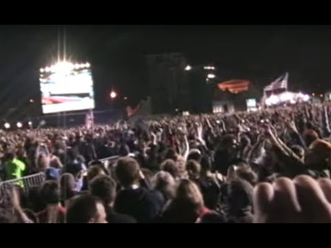 The Moment of Victory, Grant Park, Election Night 2008