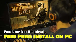Gambar cover How to Download Pubg PC Version Free 2019 ▶ Install Pubg Lite PC Version Free ▶ Pubg Pc for India