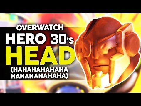 Overwatch - Hero 30's Head LEAKED?! Hahaha! thumbnail