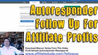 Autoresponder Email Sequence For Affiliate Marketers - Email Marketing Made Easy