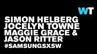 Simon Helberg, Maggie Grace & Jason Ritter (We'll Never Have Paris) | #SamsungSXSW