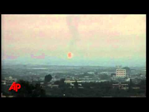 Raw Video: Explosion at Gas Pipeline in Egypt