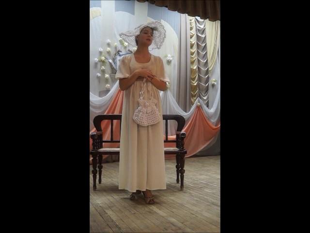 Изображение предпросмотра прочтения – АлександраТатиевская читает произведение «Разборчивая невеста» И.А.Крылова
