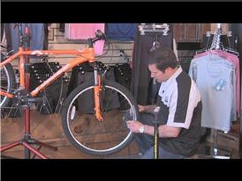 Bicycle Parts & Maintenance : How to Use Bicycle Pumps thumbnail