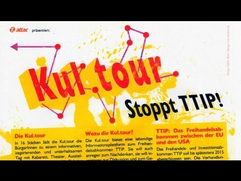 TTIP Kul.tour 1 Attac Fulda 2. Mai 2014