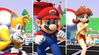 Mario & Sonic at the Olympic Games Tokyo 2020   All Characters Dream Karate Gameplay
