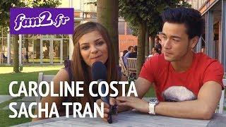 Caroline Costa et Sacha Tran : Robin Des Bois, l'interview pour fan2.fr !