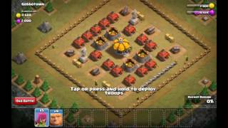 Clash of clans THE MOST HARDEST BASE EVER THAT LOOKS EASY! 😠