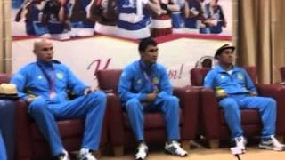 Серик Сапиев и другие призеры Олимпиады-2012 в Астане