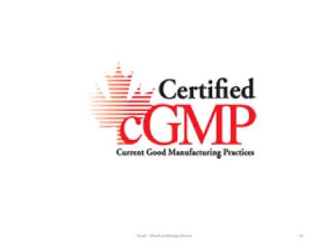 Total Quality Management & current Good Manufacturing Practice