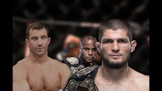 Download khabib and daniel cormier being best teammates while luke rockhold's awkwardness greatens Mp3 and Videos