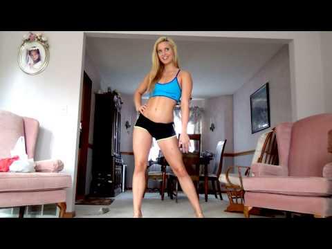 Handstand Walks & Bikini Posing (2 weeks out)