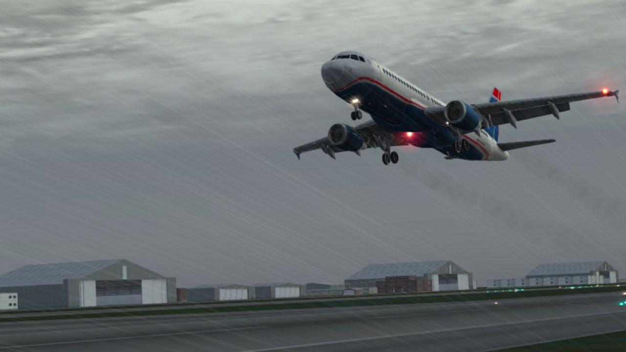 X-Plane 10 Flight Simulator Gameplay IOS / Android
