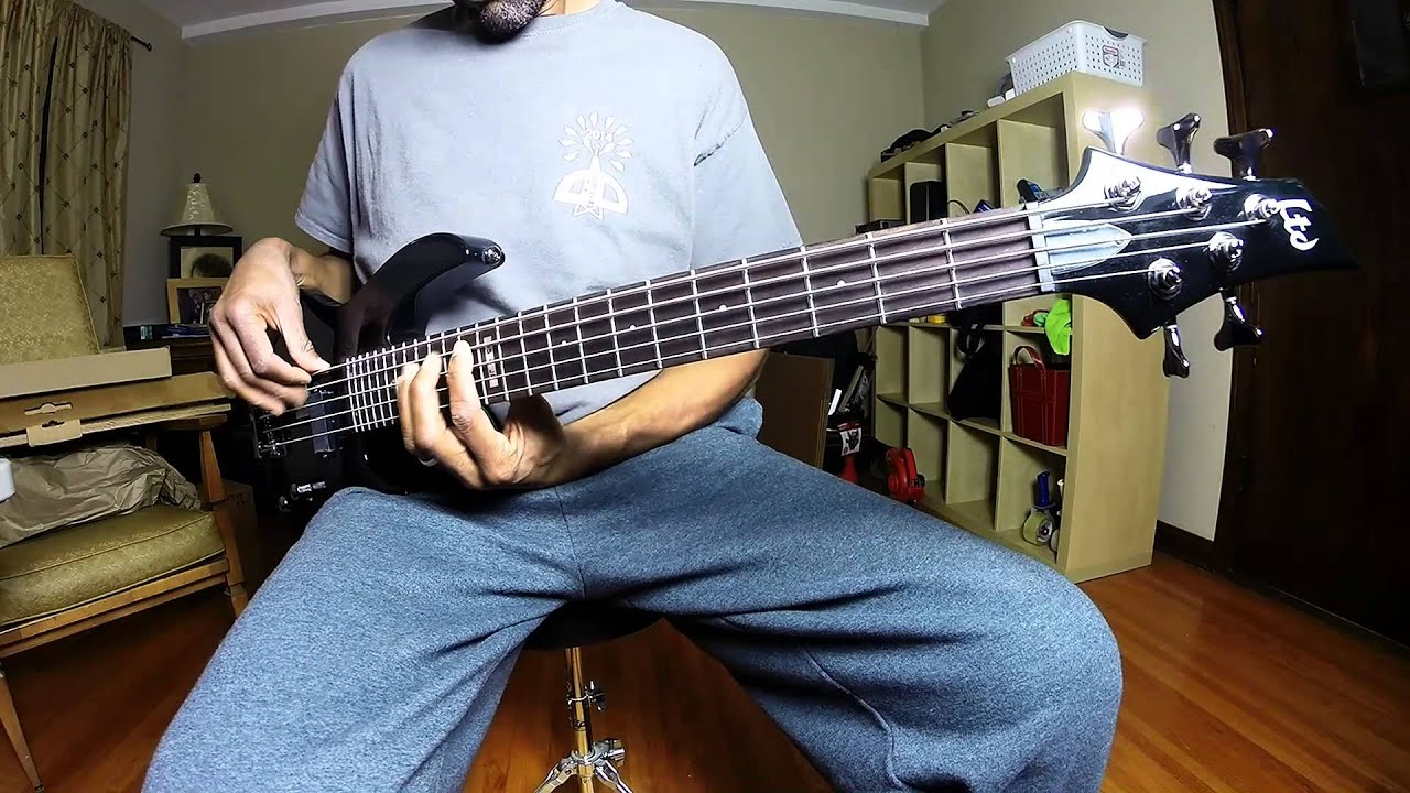 Edwards HEJ by ESP japan bass review - YouTube