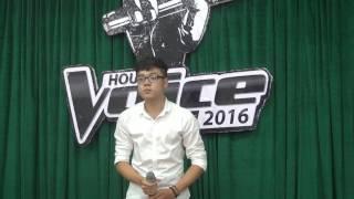 [HOU's Voice 2016 - Giấu Mặt] Tình Mây Ngàn - Đặng Sang