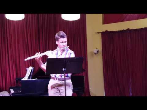 Blake Snyder,  Three preludes for flute, Prelude I, Muczynski