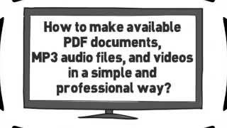 How to make available PDF, MP3, and videos? Part 1 - Set up an Amazon S3 Account