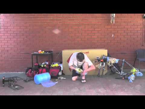 Snowfields to Sandhills - Packing the bike for the flight to Canberra (Ep-01)