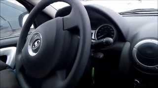 Лада Ларгус 2014 (фильм 2) давление  в шинах и тонировочка, знакомство по ближе.
