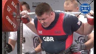 Luke Richardson - 1010.5 kg @ 21 y/o  - EPF Classic Championships 2018 - 1st Place 120+ Jr