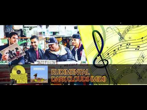 "Rudimental Ft. Jess Glynne & Chronixx - DARK CLOUDS (FULL MIDI REMAKE) - ""in The Style Of"""