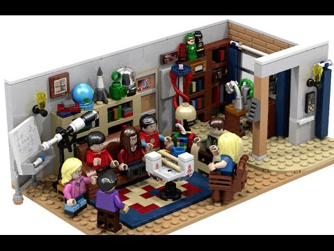 The Big Bang Theory: Interview with LEGO Ideas Fan Designers Ellen Lego Room House Designer on microsoft house designer, home designer, lego building,