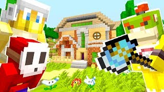 Mario Minecraft - Bowser Has To Kill His Friends?! [12]