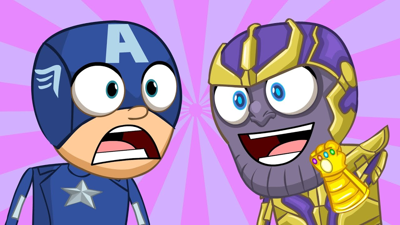 Avengers Animated Wallpaper Animated Avengers Infinity War By Nachotoonz Youtube