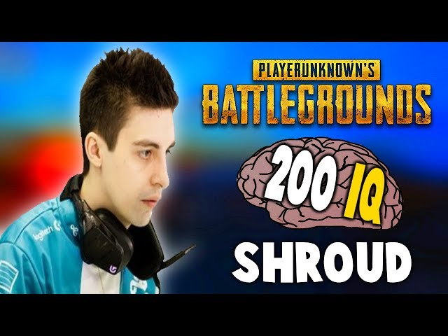 SHROUD TOP 200 IQ PLAYS EVER - PUBG