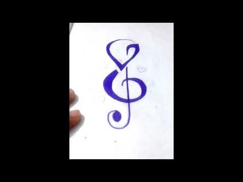How to Incorporate Initials into Music S   Tattoo Design in S letter