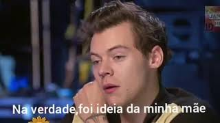 Harry Styles entrevista sobre One Direction (legendado)