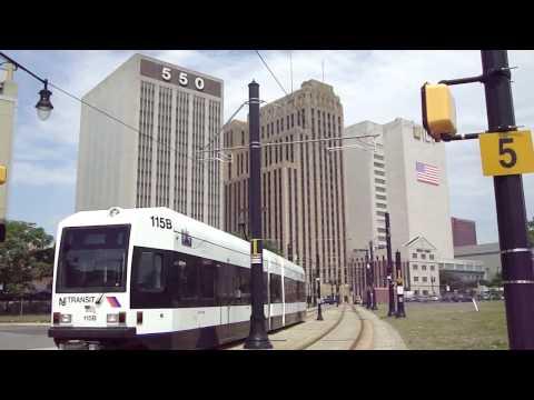 Light Rail (trams) in NJ: Newark and Jersey City