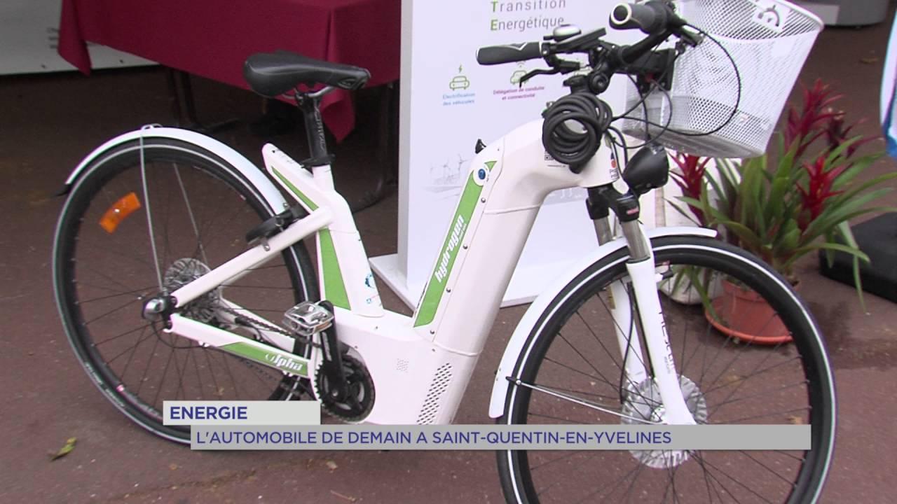 Energie : l'automobile de demain à Saint-Quentin-en-Yvelines