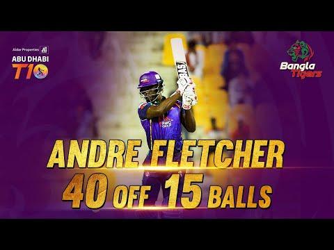 Andre Fletcher I 40 Off 15 Balls I Match 8 I Man Of The Match I Bangla Tigers