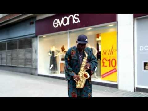 Saxophone Solo - Oxford Street - London