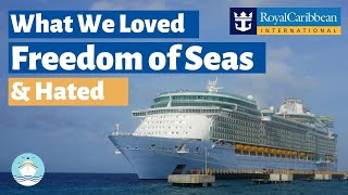 Newly Amplified Freedom of the Seas What We Loved & Hated!