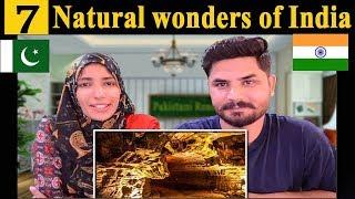 Pakistani Reacts To | 7 Natural wonders of India | Hindi | India | Hindustan