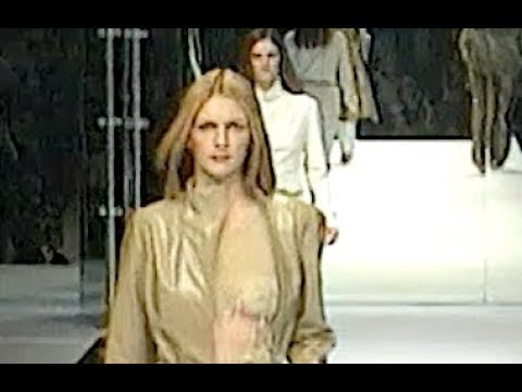 GUY LAROCHE Fall 1999 2000 Paris - Fashion Channel